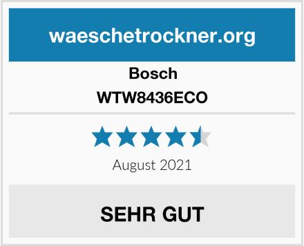Bosch WTW8436ECO Test