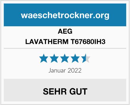 AEG LAVATHERM T67680IH3 Test