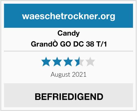Candy GrandÒ GO DC 38 T/1 Test