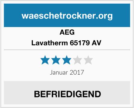 AEG Lavatherm 65179 AV  Test