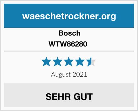 Bosch WTW86280  Test