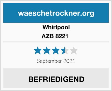 Whirlpool AZB 8221  Test
