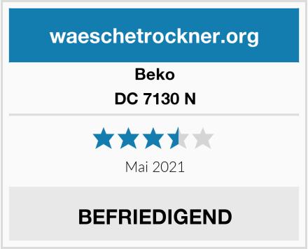Beko DC 7130 N Test
