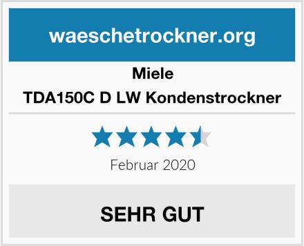 Miele TDA150C D LW Kondenstrockner Test
