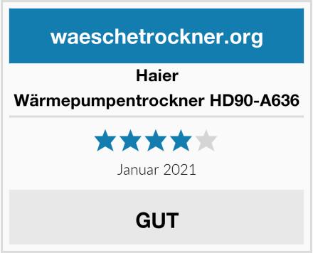 Haier Wärmepumpentrockner HD90-A636 Test