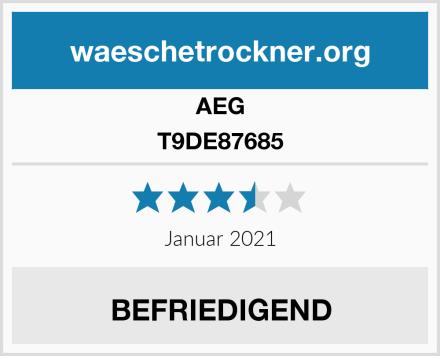 AEG T9DE87685 Test