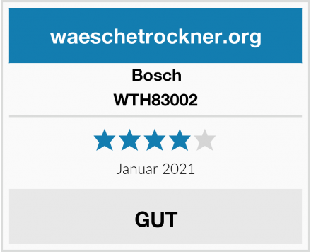 Bosch WTH83002 Test