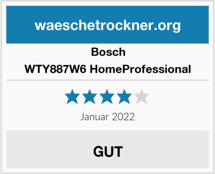 Bosch WTY887W6 HomeProfessional Test
