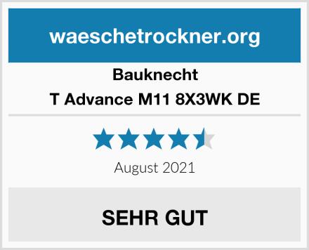 Bauknecht T Advance M11 8X3WK DE Test