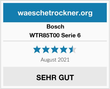 Bosch WTR85T00 Serie 6 Test