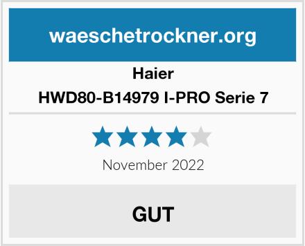 Haier HWD80-B14979 I-PRO Serie 7 Test