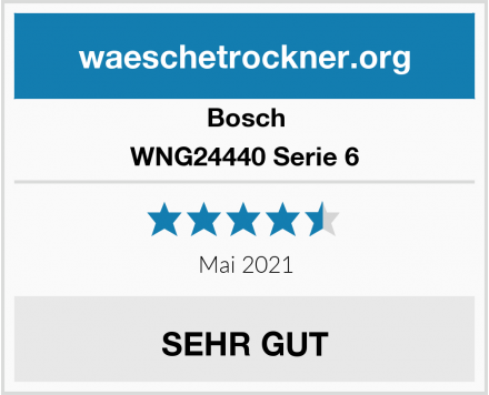 Bosch WNG24440 Serie 6 Test