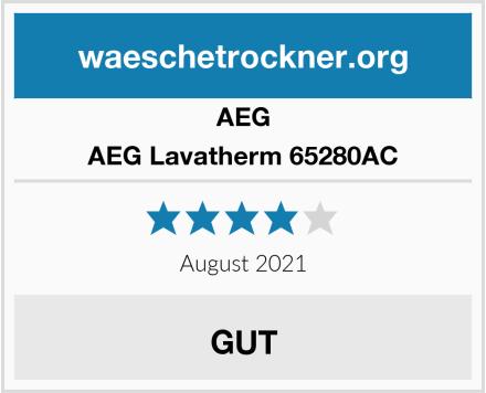 AEG AEG Lavatherm 65280AC Test
