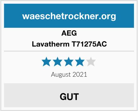 AEG Lavatherm T71275AC Test