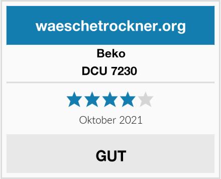 Beko DCU 7230  Test