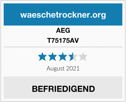 AEG T75175AV Test