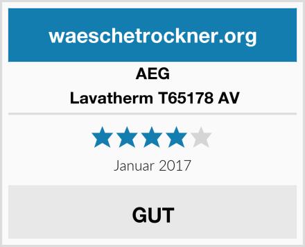 AEG  Lavatherm T65178 AV Test