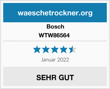 Bosch WTW86564  Test